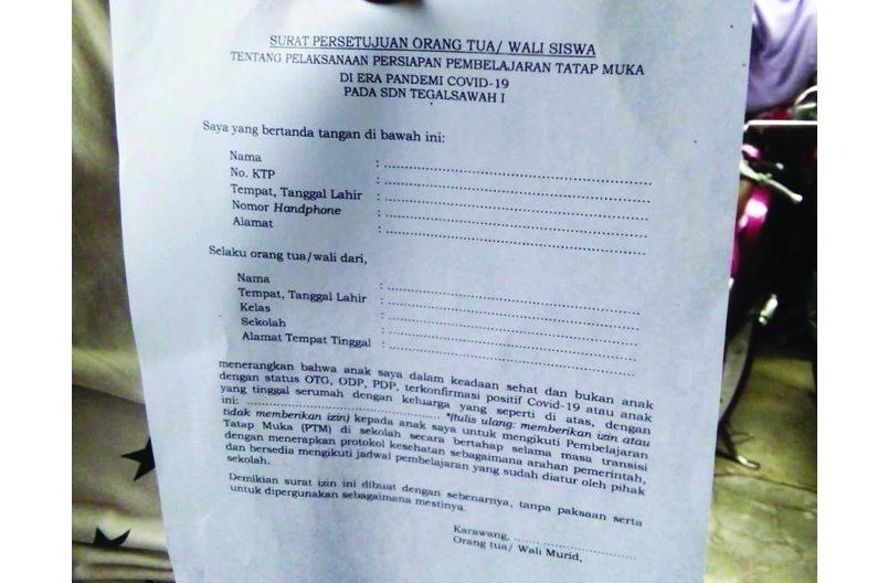 Sekolah di Rawamerta Nekat Mau Belajar Tatap Muka - Radar ...